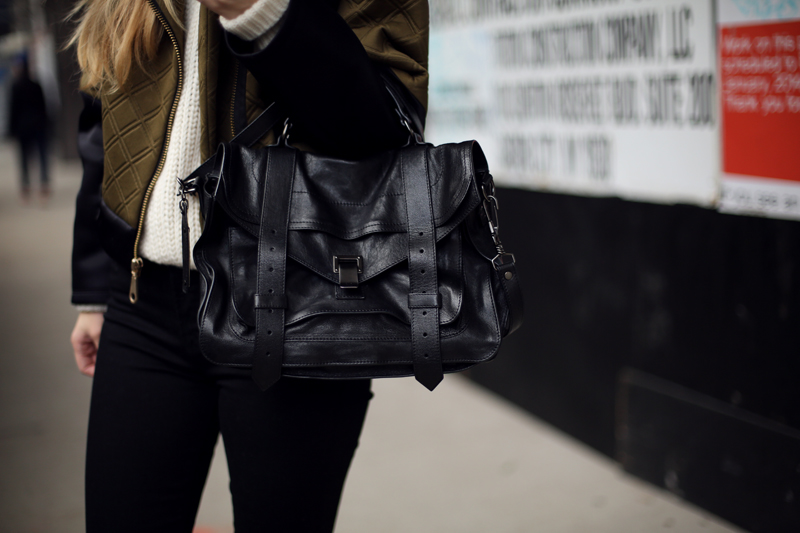 proenza schouler ps1 medium black