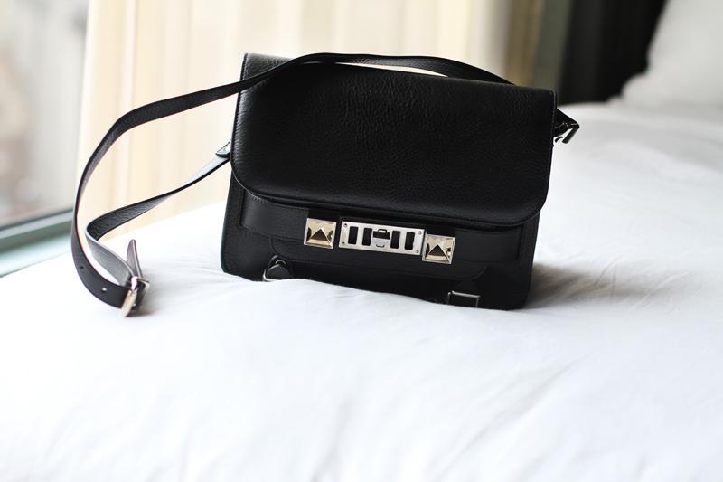 Proenza Schouler ps11 black, carolina engman, fashionsquad,