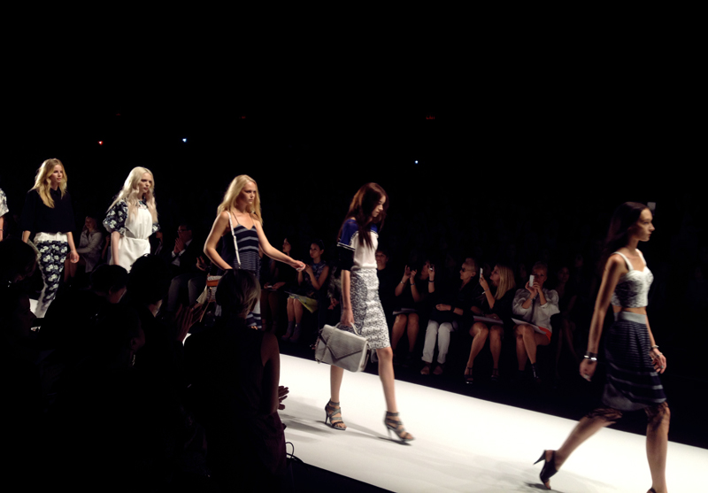 rebecca minkoff spring 2013 finale