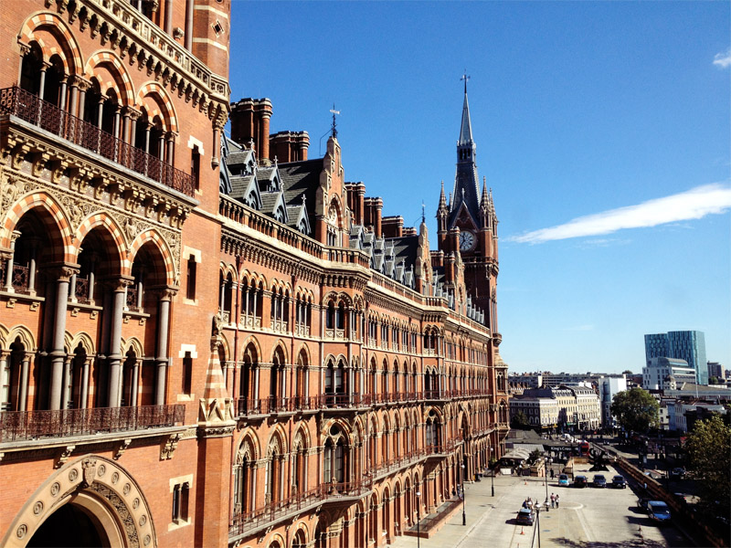 st pancras, hotel, london