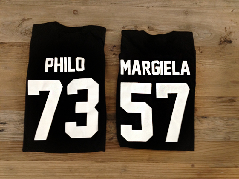 team philo thshirt, team margiela tshirt