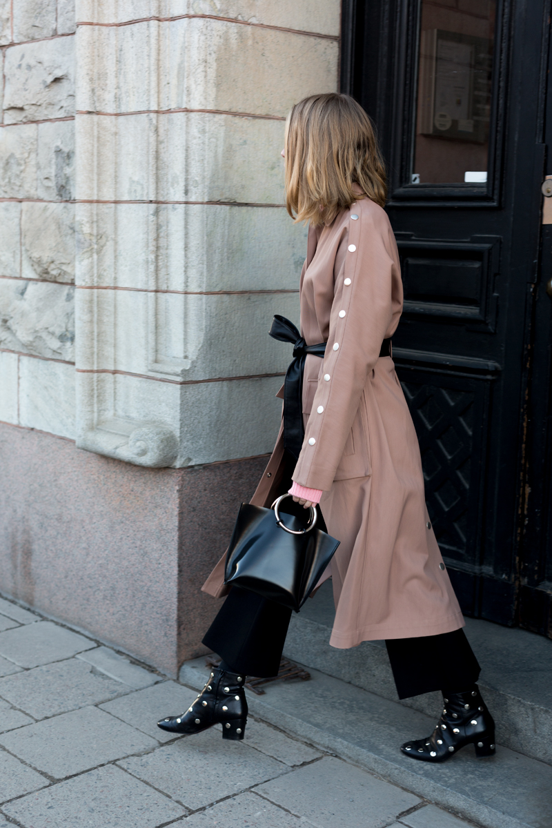 tibi trench coat