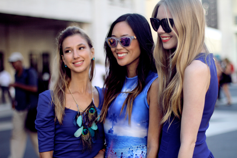 carolina engman, aimee song, valentina nessi, new york fashion week