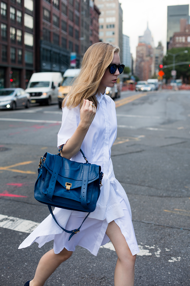 White shirt dress (fashionsquad.com)